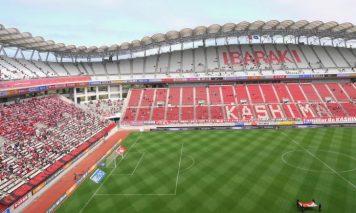 カシマサッカースタジアムの芝生