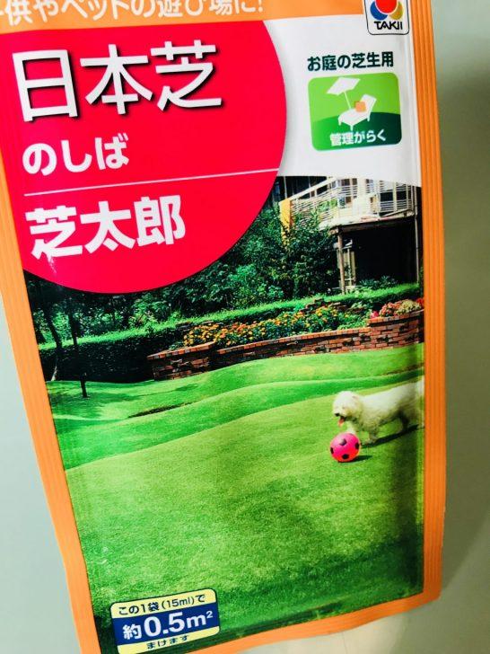 日本芝の種「芝太郎」