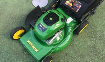 エンジン式芝刈り機