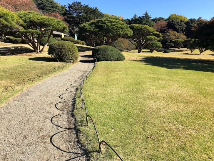 芝生の際(エッジ)処理