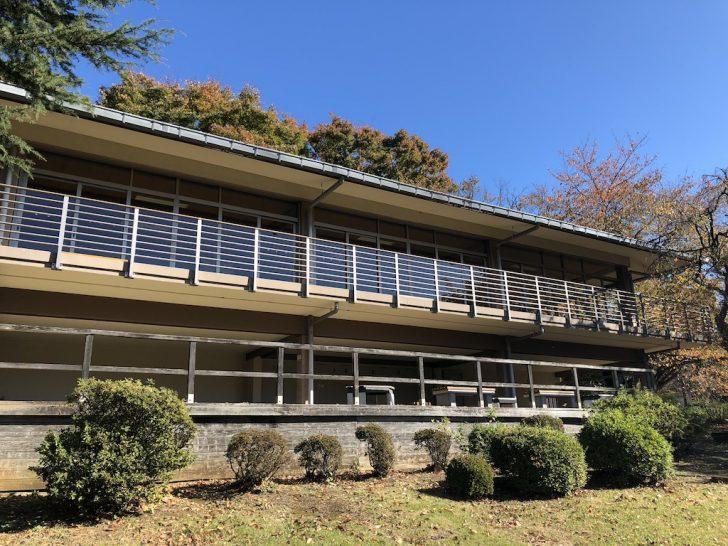 新宿御苑のレストハウス