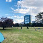 木場公園の芝生広場