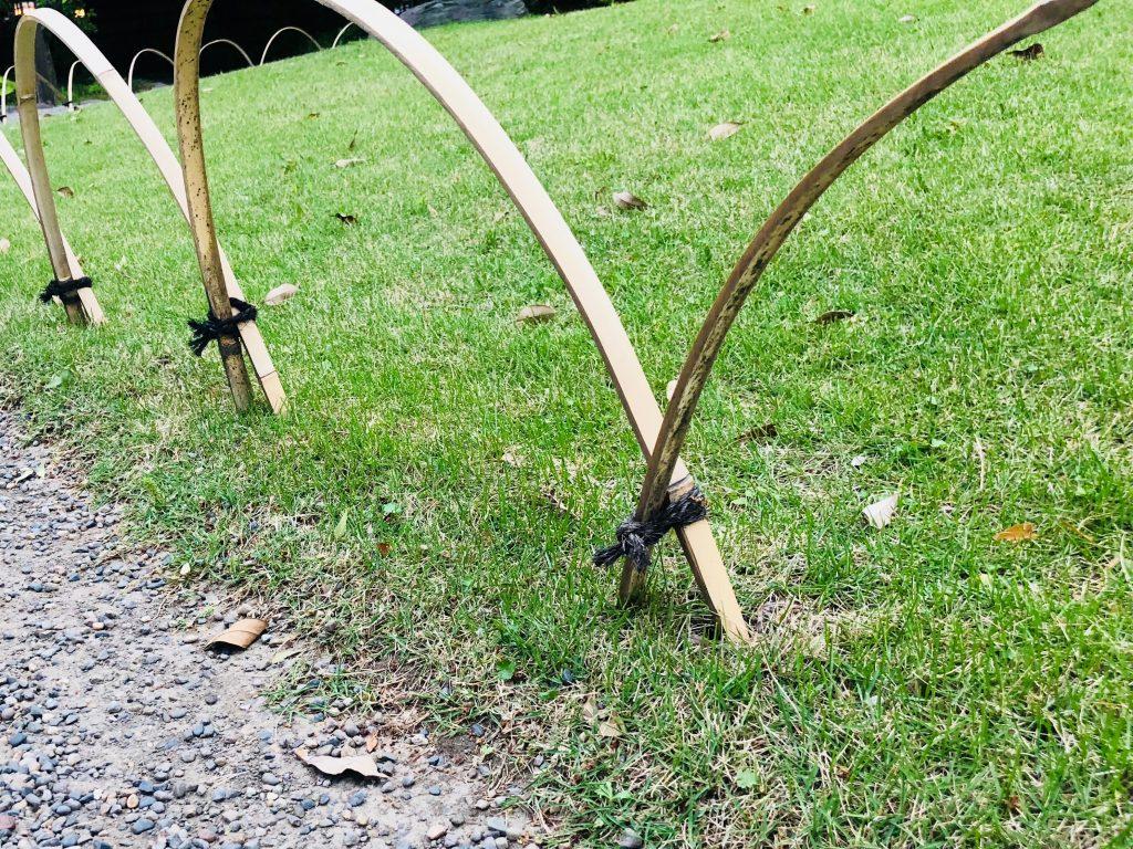 日本庭園のエッジ処理
