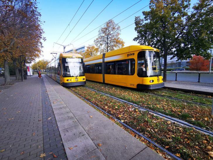 ドレスデンの路面電車