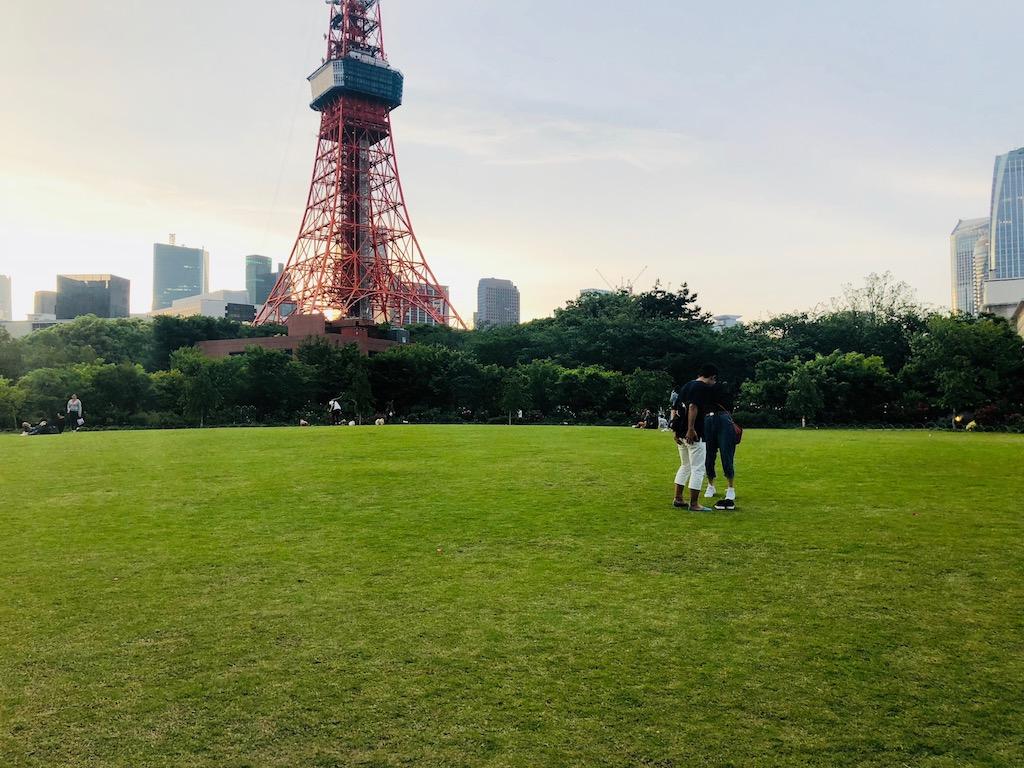 ザ・プリンス パークタワー東京の「プリンス空中庭園」