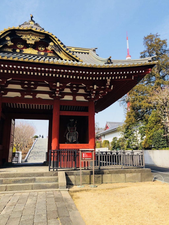 増上寺の惣門