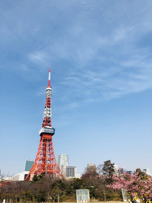 プリンス空中庭園からの東京タワー